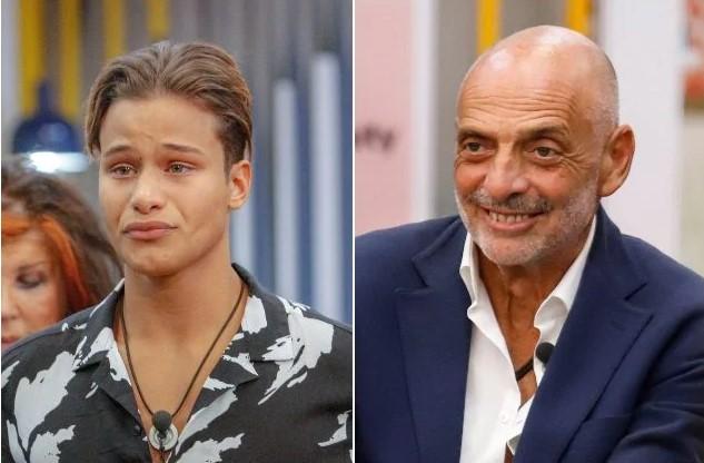 Denis Dosio squalificato dal GF Vip per bestemmia: Paolo Brosio salvato, fatemi rientrare!