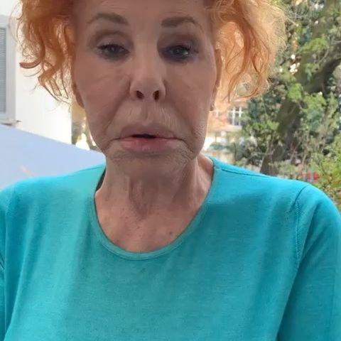 Ornella Vanoni è disperata : non posso vedere le persone che amo