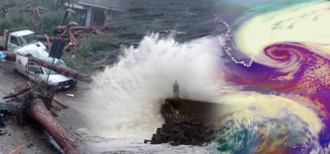 La Tempesta Ciara in Italia : Una donna è morta, feriti e danni case