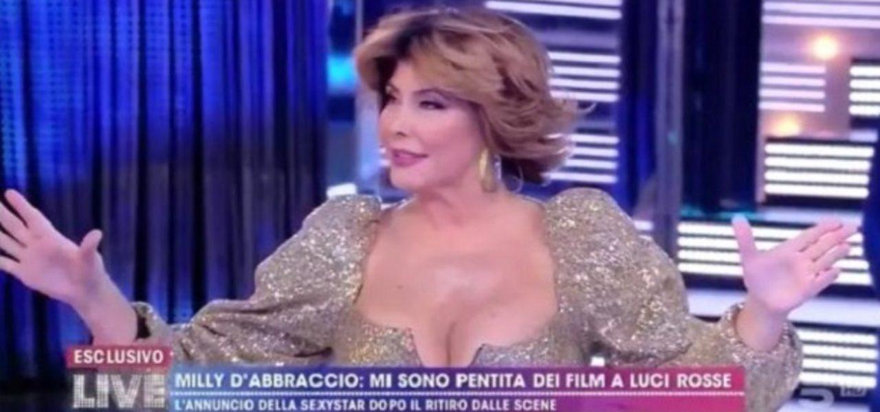 Milly D'Abbraccio su Antonio Zequila : Super dotato e fissato col sesso!