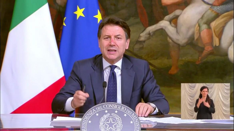 Giuseppe Conte: Chiusure fino al 3 maggio, avanti con la battaglia in Europa