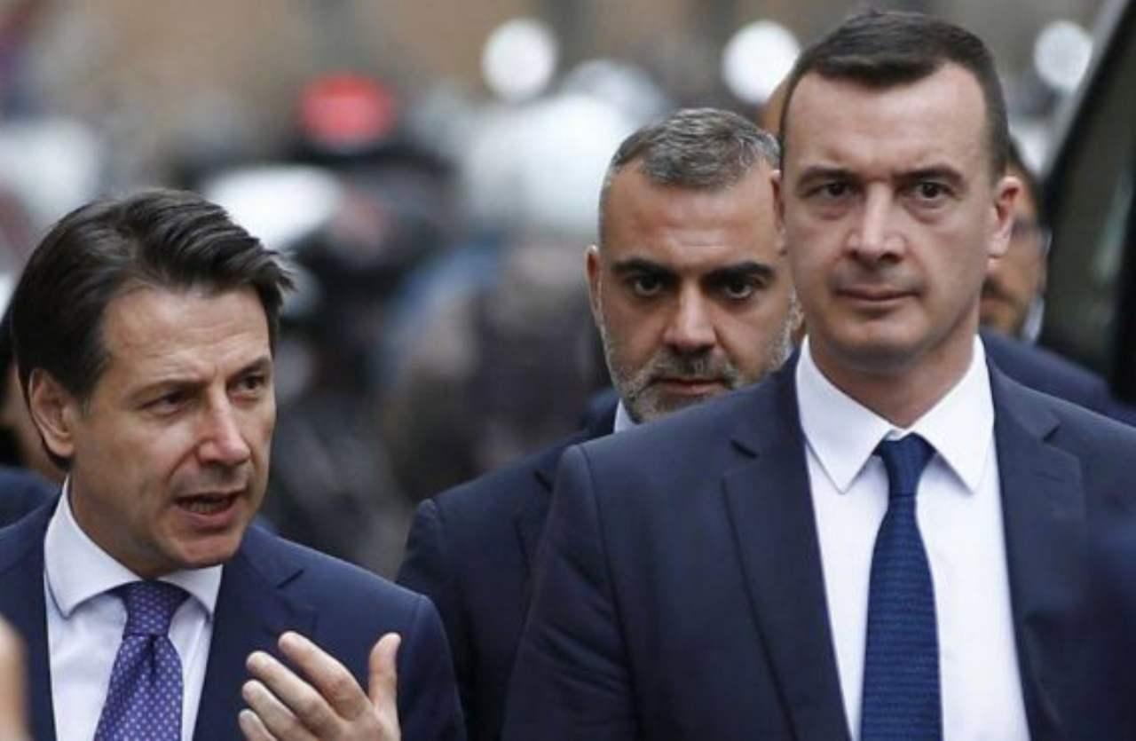 Rocco Casalino e le accuse al compagno segnalato all'antiriciclaggio