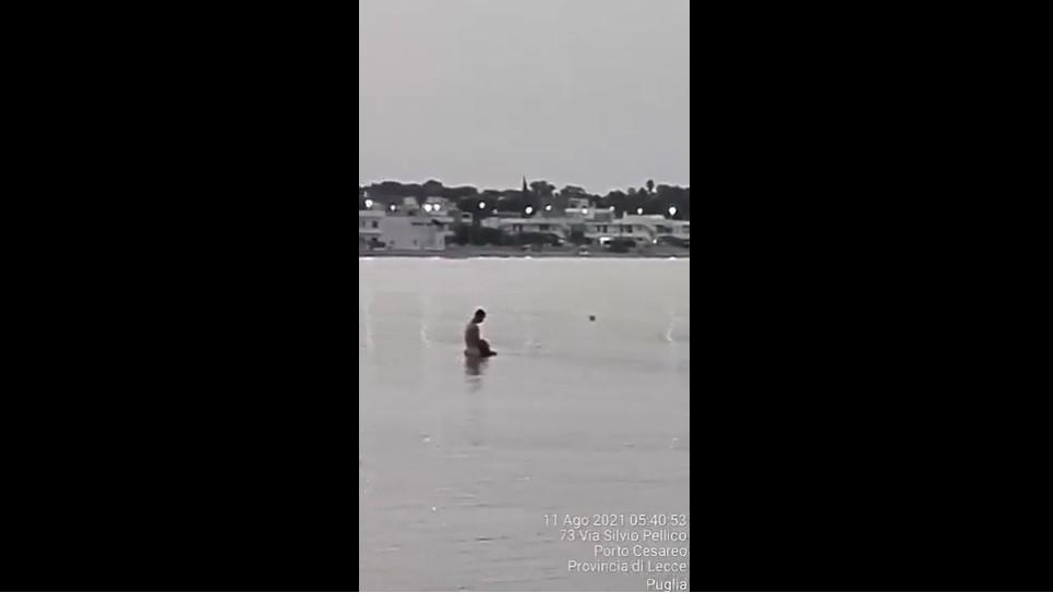 Sesso in acqua a Porto Cesareo : Ecco il video in rete