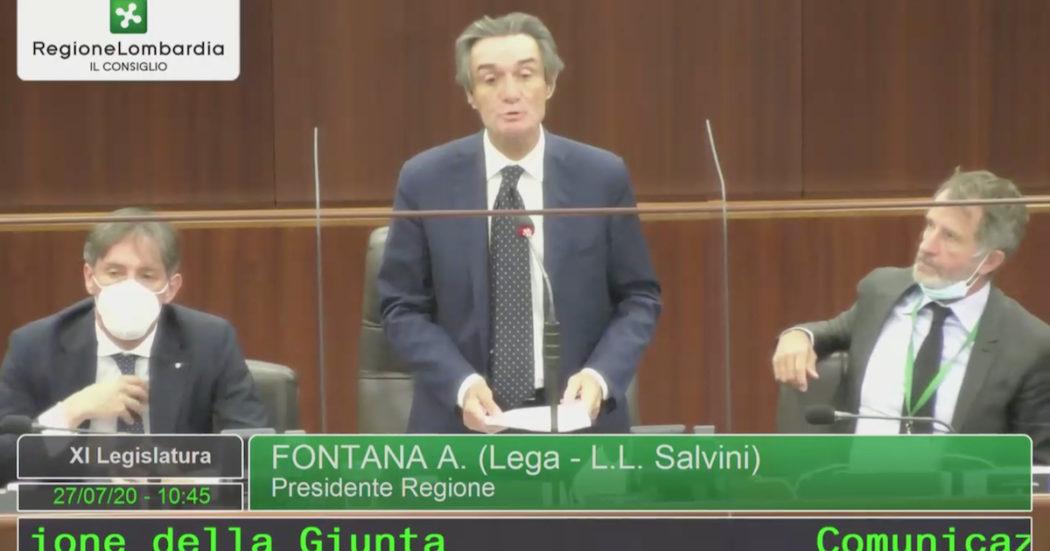 M5S risponde a Fontana: Bugie aberranti a cittadini e istituzioni, si dimetta