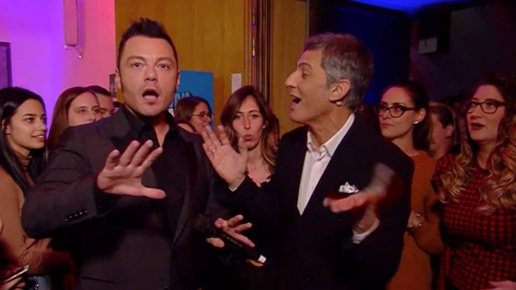 Tiziano Ferro va a lezione da Fiorello: le prove per il Festival di Sanremo