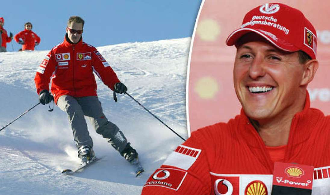 Foto rubate di  Michael Schumacher in vendita a 1 milione  di sterline