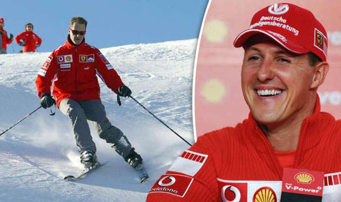 Foto rubate di  Michael Schumacher in vendita a 1 milione  di sterline