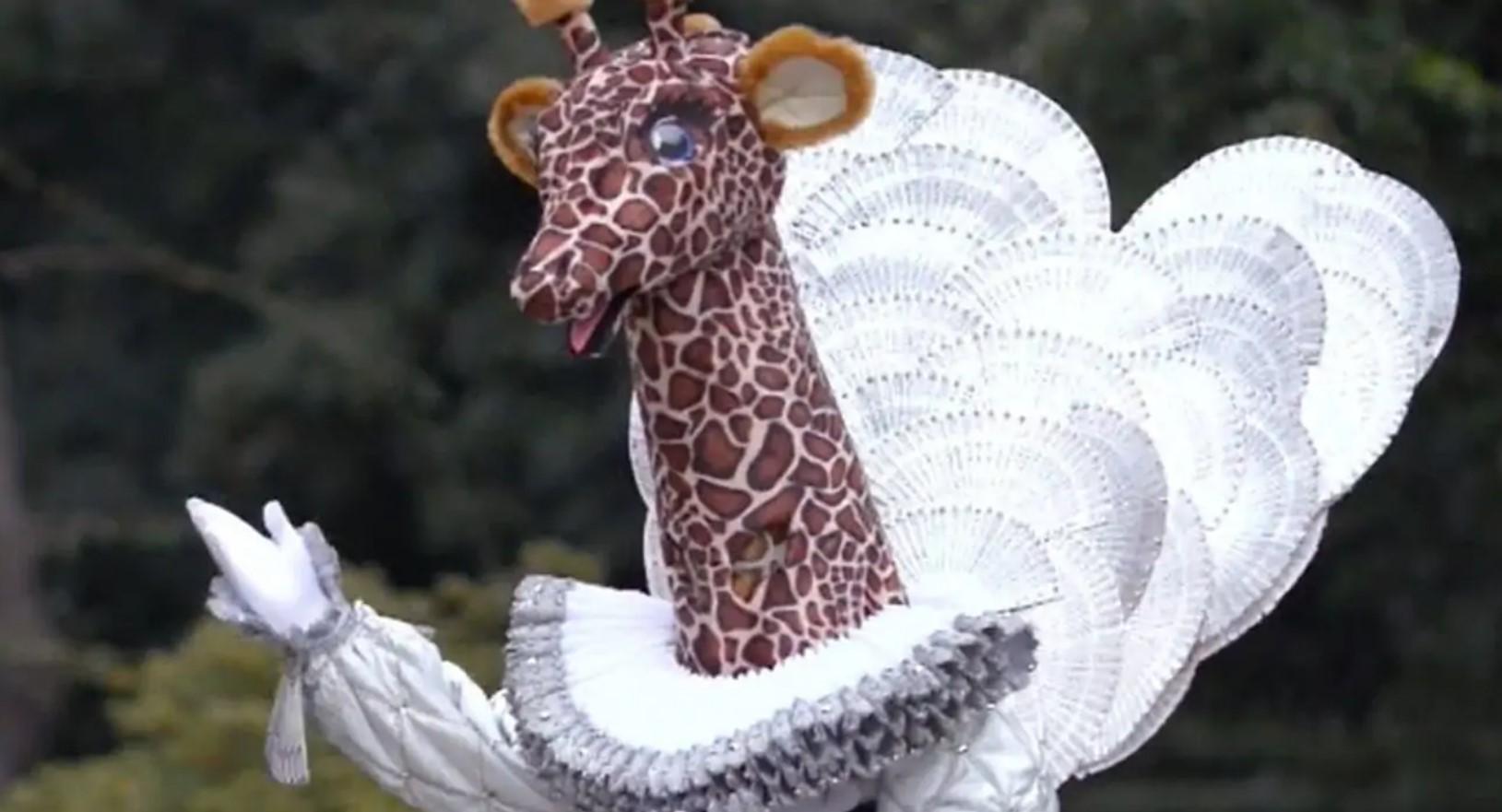 Chi è Giraffa de Il Cantante Mascherato 2021
