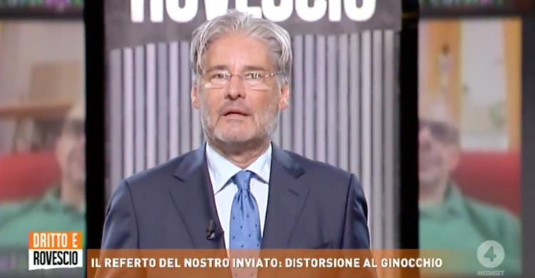 Paolo Del Debbio è dimagrito ma non è malato!
