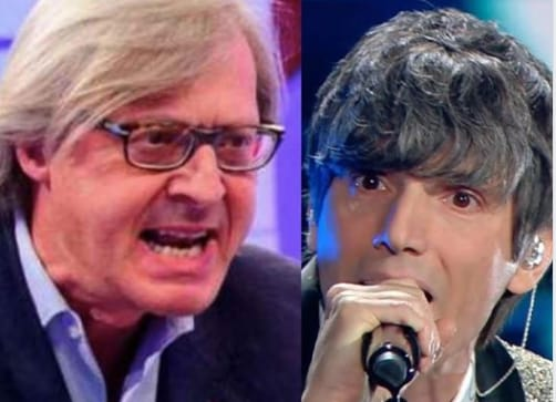 Il caso Bugo e Morgan a Live non è la D'Urso : Vittorio Sgarbi esagera!