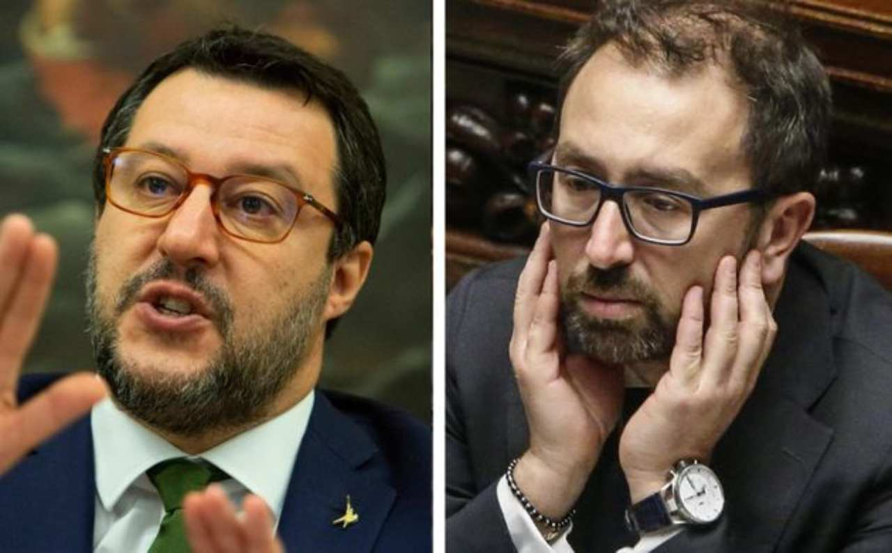 Matteo Salvini contro il Ministro Bonafede:  Deve vergognarsi!
