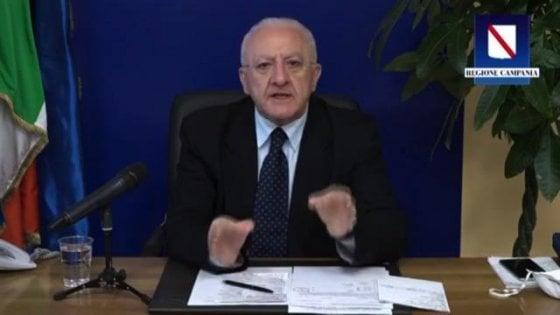 Campania : Vincenzo De Luca non ha firmato l