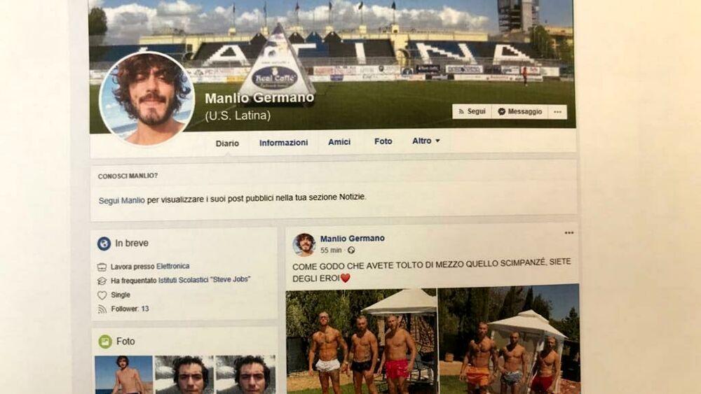 Inneggiava alla sua morte : chi è lo studente denunciato per il post contro Willy Montero Duarte
