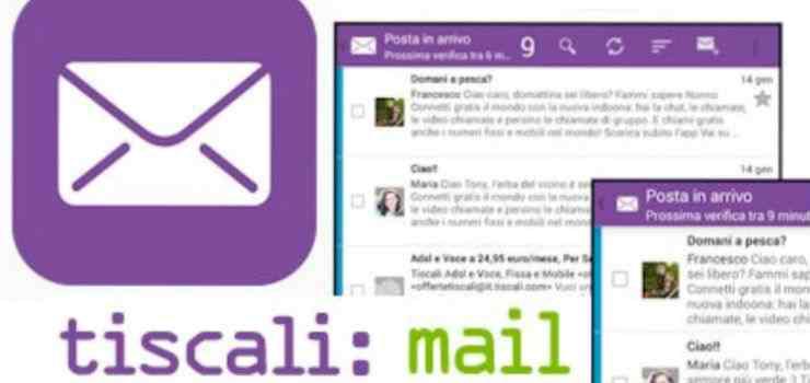Tiscali mail non funziona : interruzioni ultime 24 ore
