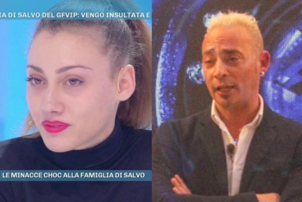 Mio padre maniaco : La figlia di Salvo Veneziano bullizzata per il GF Vip