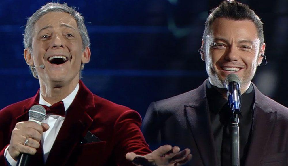 A Sanremo 2020 Fiorello offeso da Tiziano Ferro minaccia di lasciare il Festival