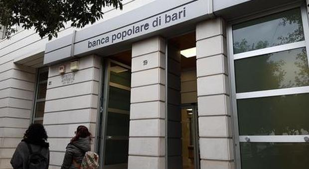 Banca Popolare di Bari : approvato decreto legge da 900 milioni
