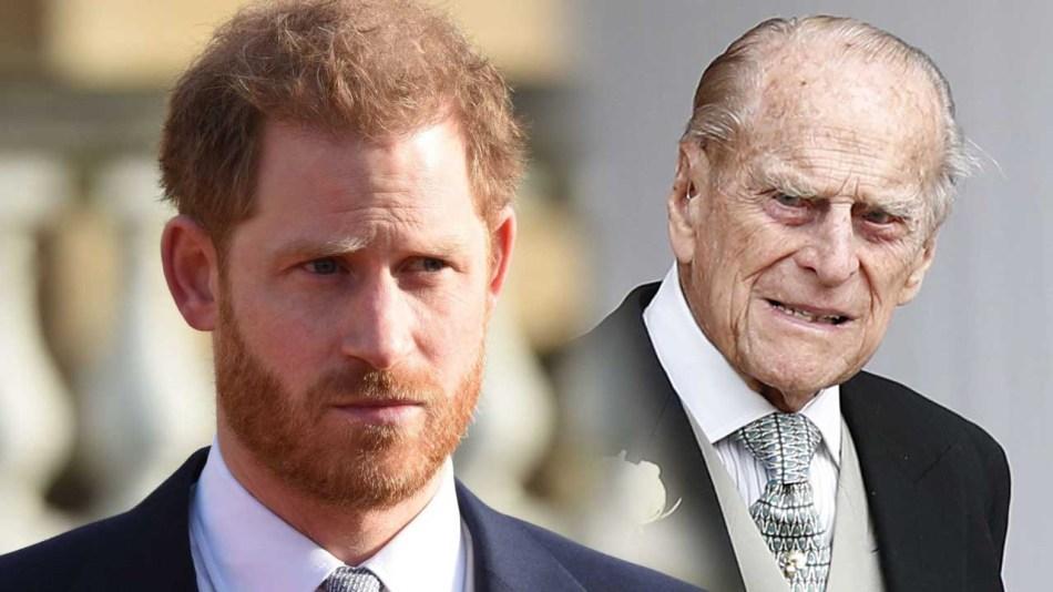 Harry al funerale del nonno Filippo : La moglie Meghan no