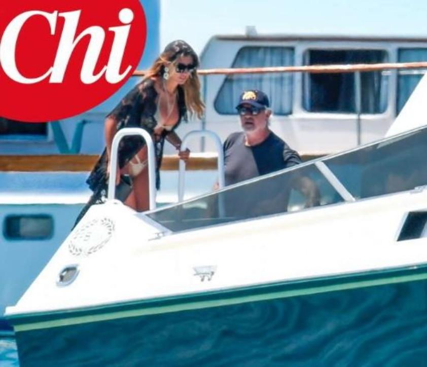 Flavio Briatore con la sua nuova sexy fiamma Maria Ludovica Campana