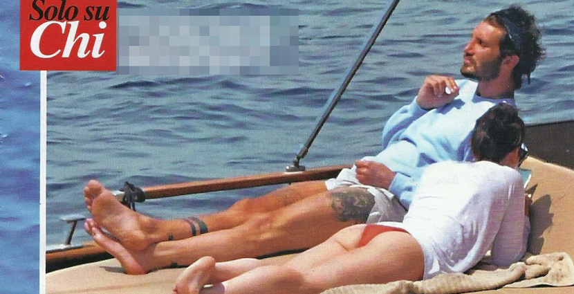 Stefano De Martino single senza Belen Rodriguez si rilassa in barca