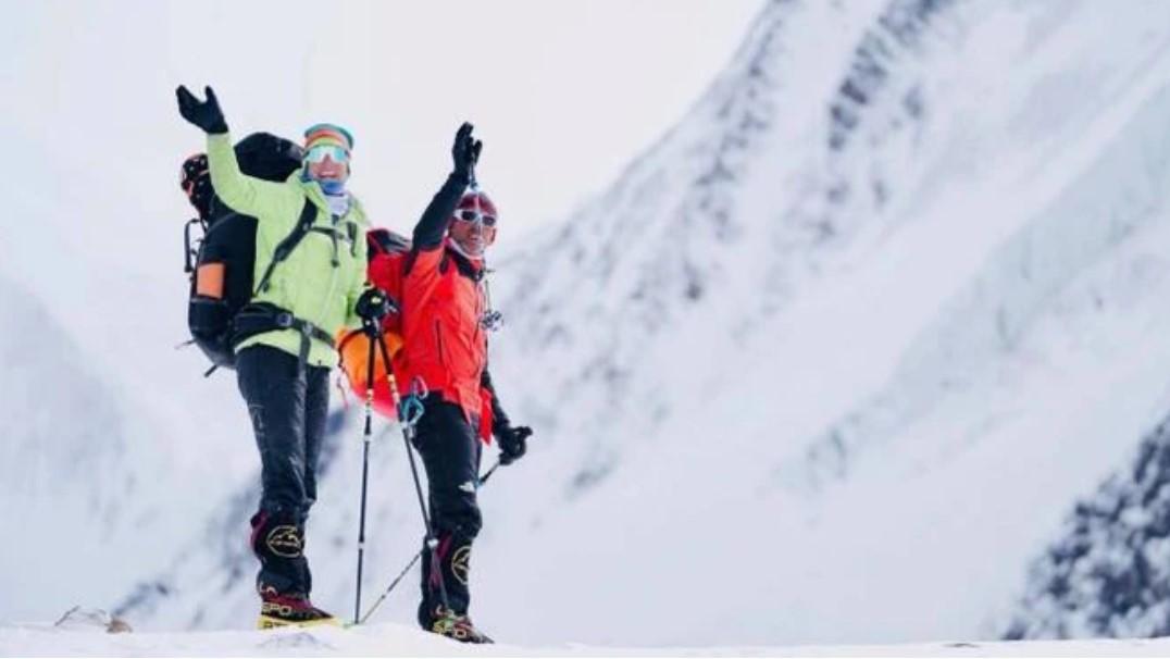 Incidente sul Karakorum : Salvi gli alpinisti italiani Simone Moro e Tamara Lunger