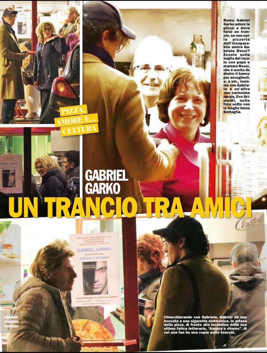 Ecco Gabriel Garko e Gabriele Rossi in chiesa : Un amico speciale