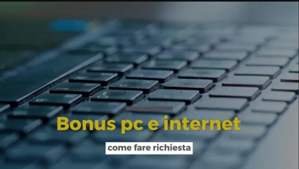 Arriva il bonus pc e internet a sostegno della connessione e digitalizzazione