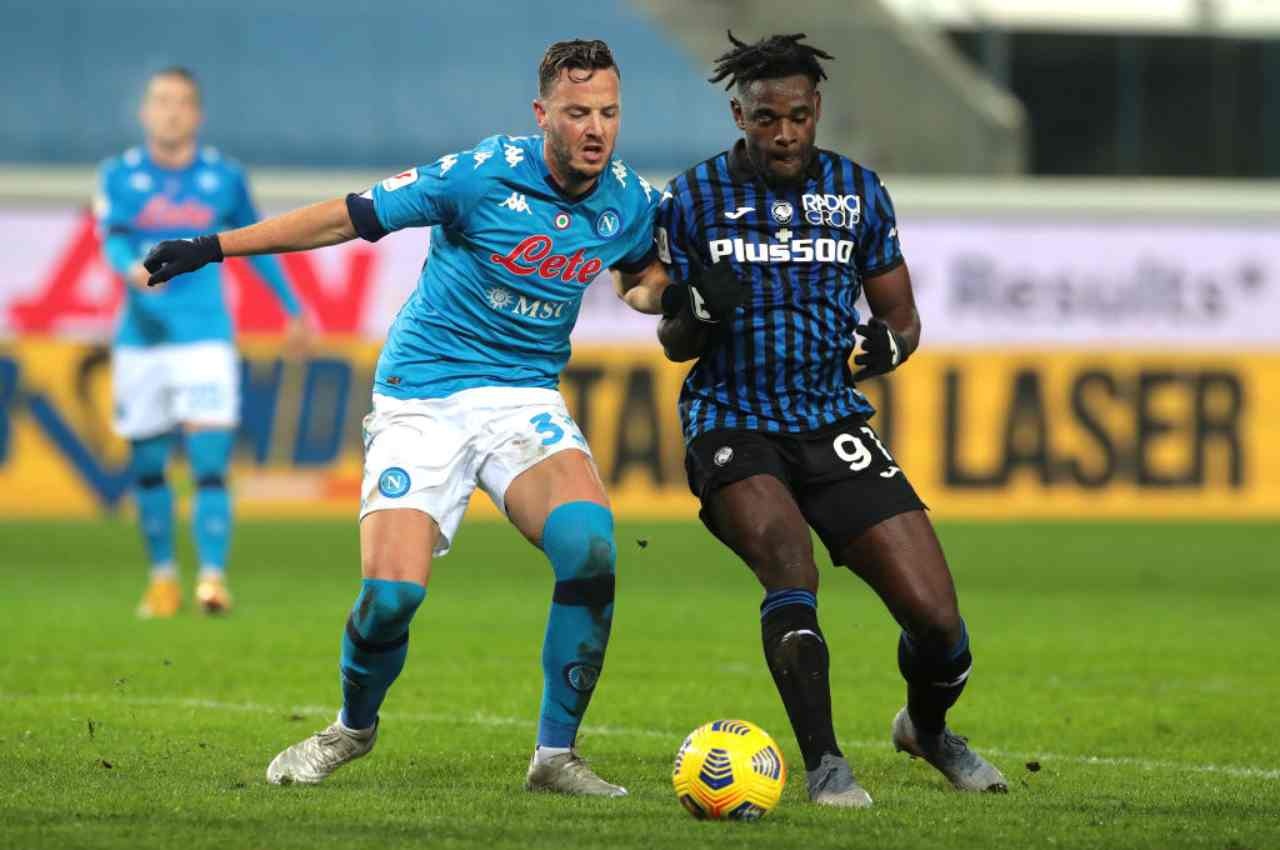 Atalanta Napoli streaming partita in diretta