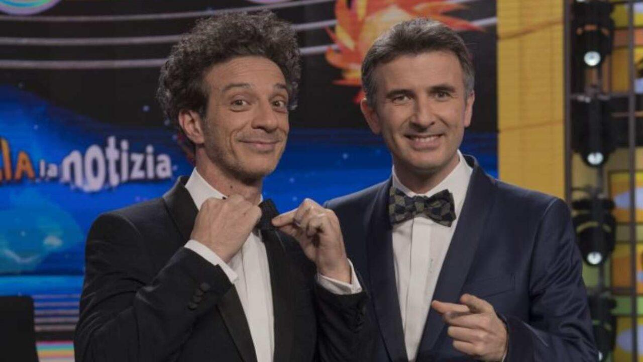 Ficarra e Picone a Domenica In, gaffe in diretta per Mara Venier
